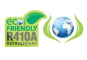 Gás r410a ecológico